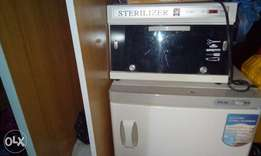 Towel warmer, sterilizer and clipper up for grabs