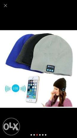 Hot Winter Warm Beanie Hat Wireless Bluetooth Smart Cap Headphone