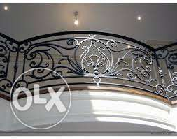iron wrought art grills