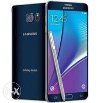 New Samsung Galaxy note 5