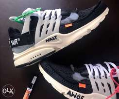 Nike Presto X Off White Mens Sneakers