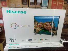 Ultra-HD Hisense 43 Inches Smart TV with Internet Brand New