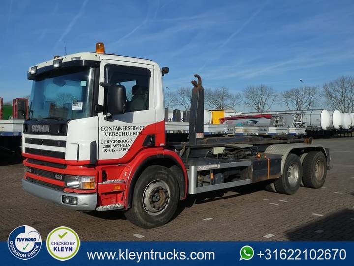 Scania P124.420 6x4 manual airco - 2000