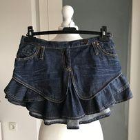 Jeansowa spódniczka spódnica Cropp XS Piła • OLX.pl