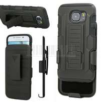 Galaxy S7 edge Hybrid Rugged Impact Holster Case+Belt Clip Cover