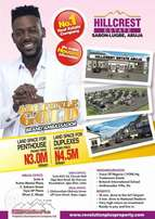 550sqm Land For Sale in Abuja. You can still be a landlord before 2018