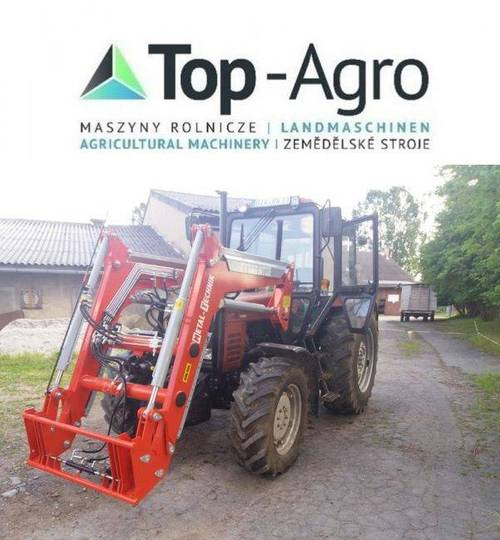 Top-Agro Mt02 Front Loader For Belarus Mtz 82 - 2019