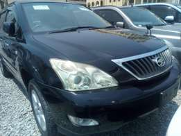 Toyota Harrier Black new Arrival