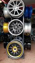 Rims in different sizes and style.