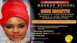 Get Empowered at our Makeup school Abeokuta.