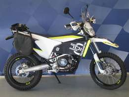 Husqvarna 701 Enduro with adventure kit
