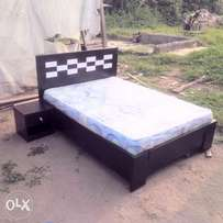Small bed with mattress