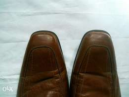 E.F.N. Brown Leather Shoe