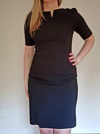 b17b30a933 Czarna elegancka sukienka RESERVED r.36 Katowice Śródmieście • OLX.pl