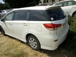 Just arrived ToyotaWish valvematic