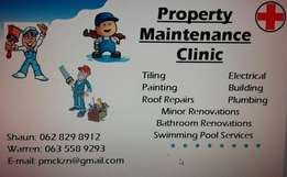 Property Maintenance Clinic - Our primary tool is Quality!