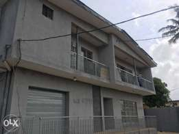 Apartment building of 1No of 5Bedrooms Flat and 3No of 3Bedroom Flats.