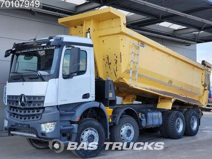 Mercedes-Benz Arocs 4142 K 8X4 Manual 25m3 Hydraulik Big-Axle SteelSusp... - 2016