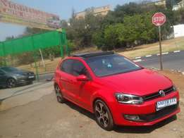 2013 vw polo 6 1.4 comfortline red for sale