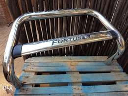 Toyota Fortuner Nudge bar for sale.