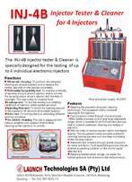 Launch Injector Cleaner and tester (Brand new)