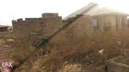 Uncompleted 2bedroom flat