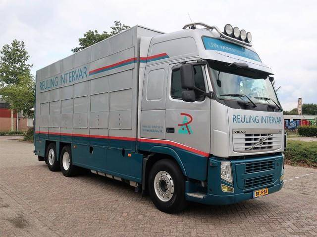 Volvo FH 460 6X2 CUPPERS 3 LOADED MOOVING FLOORS /DRINK/ - 2010