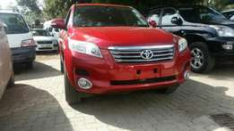 Super Clean Toyota Vanguard,Red/gray 2.4cc,7 seats 2010 model.