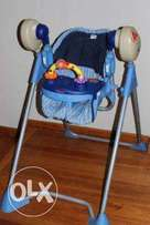 Bambino swing o matic swing and high chair use 0 months to 24 months