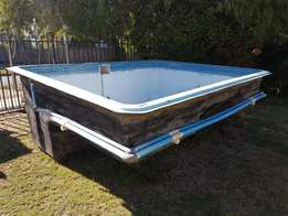 Small Fibreglass swimming/ plunge pool for sale