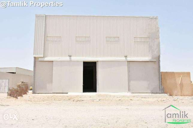 * Spacious Warehouse for Rent in Misfah, Ansab |REF 155HH