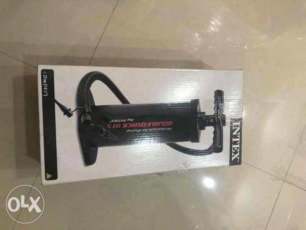 intex manual air compressor