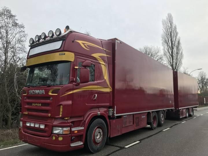 Scania R500 6x2 retarder handgeschakeld koelcombi - 2008