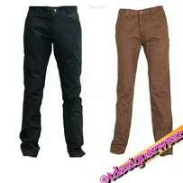 Chino pants for men.