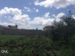 50 X 100, 4 km from Machakos town centre, ideal for rental house