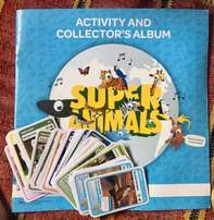 Pick n Pay Super Animals FULL Set of Cards and Album