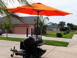 Nice BBQ heavy duty BBQ Pit on a trailer with smoker