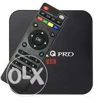 TV ANDROID box (smart World) Free fast home deliveries