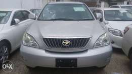 Silver Toyota Harrier Available for Sale