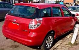 5 months used Toyota Matrix for sale