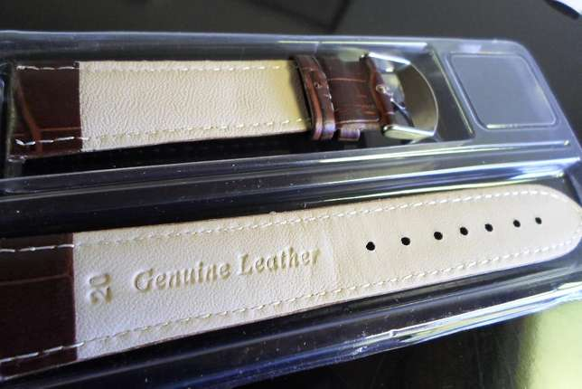 leather straps (black and brown) 20mm Boksburg - image 2