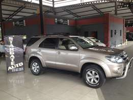 Toyota Fortuner 3l D4d 4x4 2008 Model Low Mileage Clean Lots extras