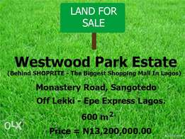 Westwood Park Estate - Plot Of Land With C of O Selling For N13.2m
