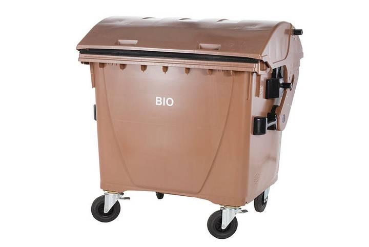 CONTAINERE de plastic 1100 l BIO waste container