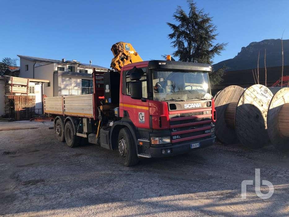 Scania 124l420 6x2 - 2002