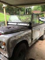 1976 3 series, 3 door Landrover with 327 V8