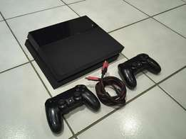 PS4 with 1 game and 2 controllers only R3999