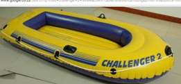 Challenger 2 rubber dinghy