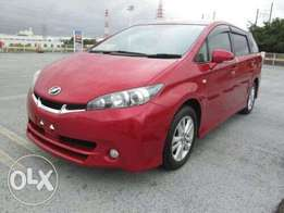 red wine Toyota wish