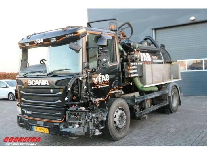 Scania P 250 4X2 Geesink Kanalsauger Vakuum Euro 6 - 2016